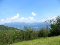 Panorama su Lago Maggiore: Cannero Riviera e La Conca Verde