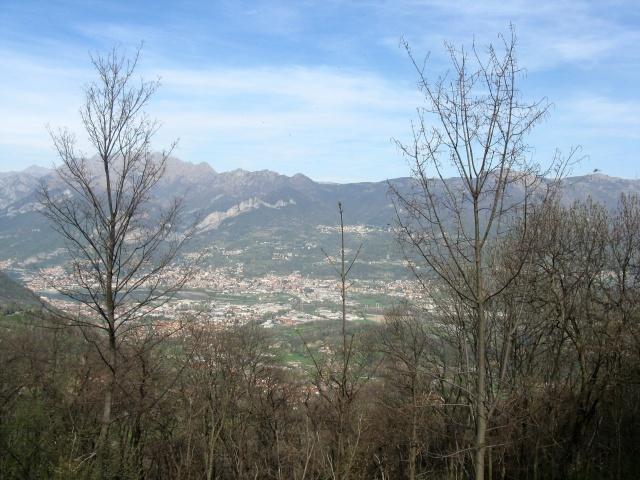 Monte Resegone e piana del lecchese