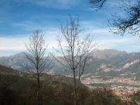 Grigna e Resegone dal San Genesio