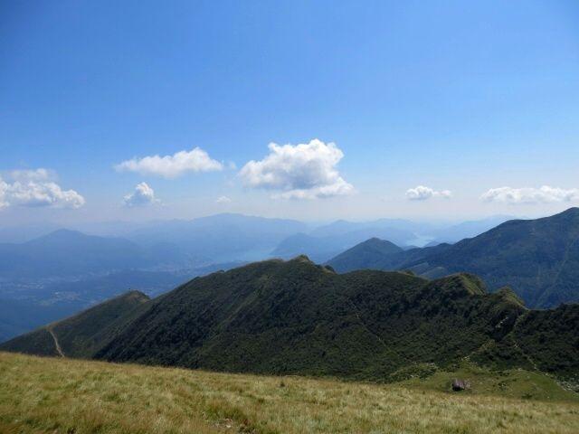 Panorama del Luganese e relativo lago