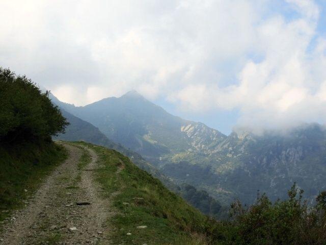 Vetta del Monte Tamaro, poco dopo aver superato l'Alpe Foppa