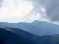 Sulla vetta del Monte Tamaro, panorama su Monte Lema