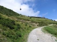 Salita all'Alpe Foppa