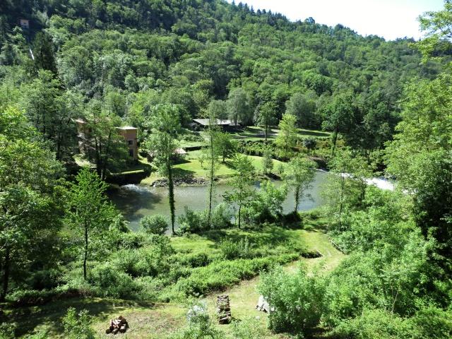 Il torrente San Giovanni nelle vicinanze di Ramello