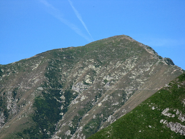 La sommità del Monte Zeda