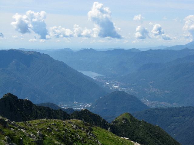 Panorama dallo Zeda - Lago d'Orta