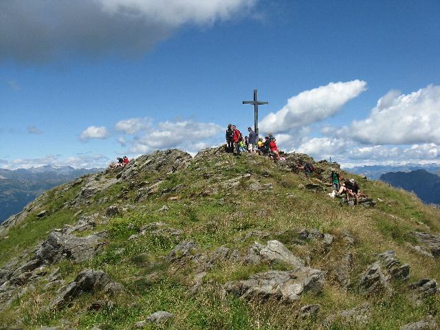 La vetta del Monte Zeda (mt. 2156)