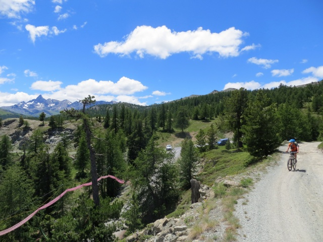 In direzione del Colle Bercia - ottimo panorama