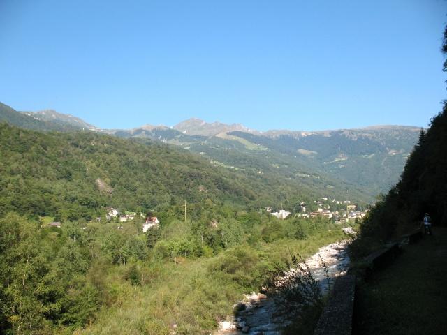 Panorama sulla Val di Blenio