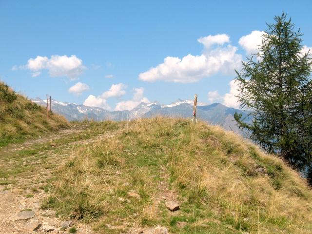 Nei pressi dell'Alpe del Gualdo
