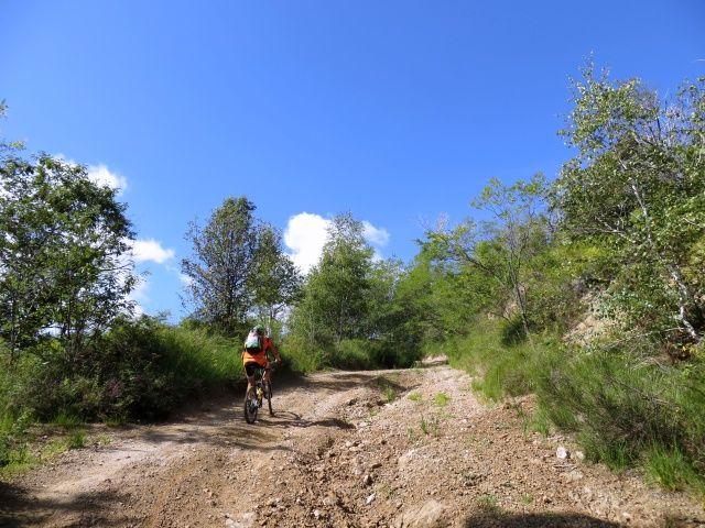 Salita al Monte Tre Croci