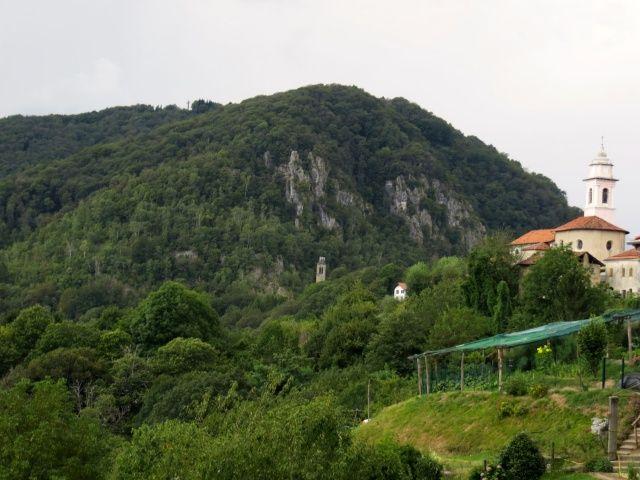 Monte Fenera dalla località Colma