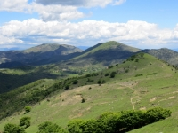 Panoramica dalla vetta del Monte Pracaban, Capanne di Marcarolo