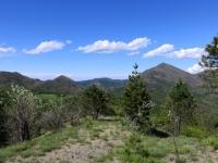 Parco delle Capanne di Marcarolo, panorama sul Monte Tobbio