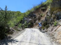 Sterrata per il Monte Pracaban
