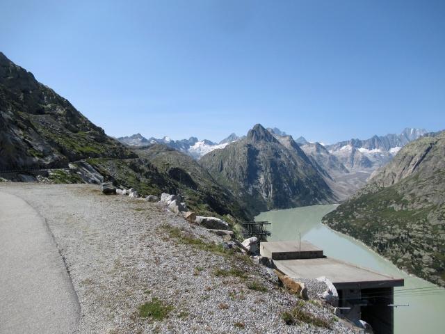 Grandioso panorama salendo all'Oberaarsee