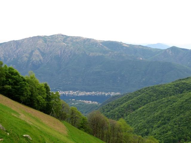 Monte Mottorone e Lago d'Orta dall'Alpe Sacchi
