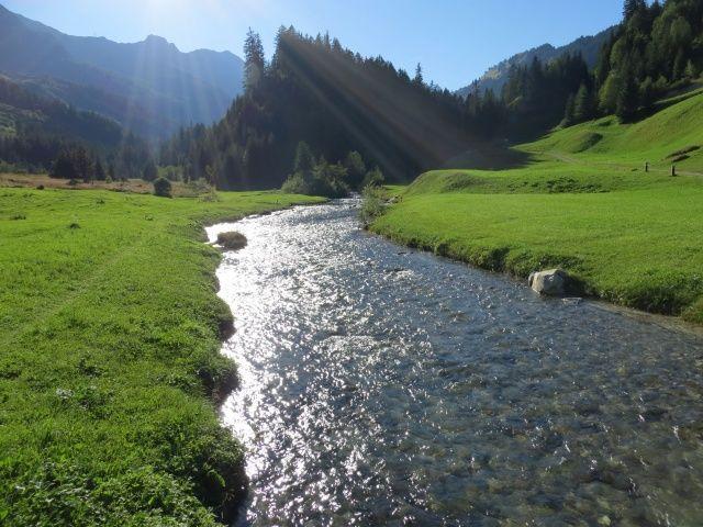 Tra Campra e Sacch, torrente Brenno