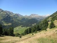 Croce Portera, panorama sulla Valle di Santa Maria (Pian Segno)