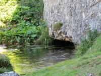 Alpe Pertusio, sorgente del torrente Brenno