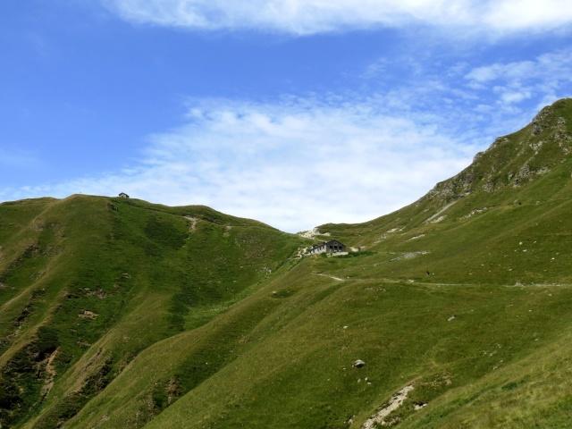 Il Passo san Jorio ed il sottostante Rifugio