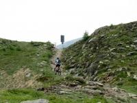 Sulla bocchetta verso Piandanazzo - tratto finale della ascesa