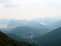 Panorama su Lugano ed il Lago