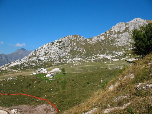 Rifugio Lecco presso i Piani di Bobbio