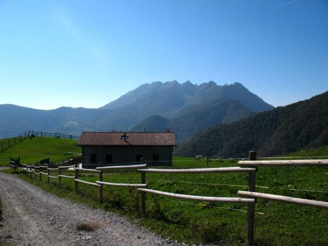 Panorama su Monte Resegone