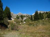 Salita da Artavaggio verso i piani di  Bobbio - panorama