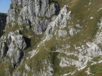 Traverso non ciclabile sotto il Monte Zuccone