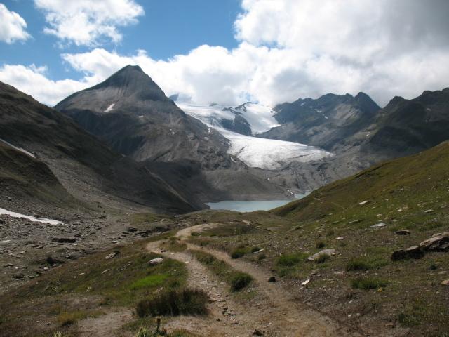 Passo del Gries, ghiacciao e lago