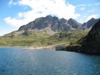 Lago del Toggia e massiccio del Pizzo San Giacomo