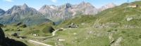 Panoramica su Alpe Toggia, con Corni di Nefelgiù e Gruppo di Ban sullo sfondo