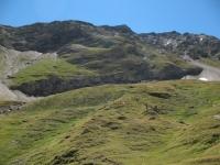 In prossimità della Capanna Corno Gries - panorama