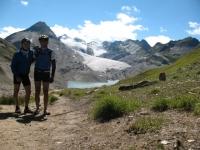 Lago e ghiacciaio del Gries - il team
