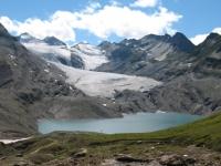 Lago e ghiacciaio del Gries