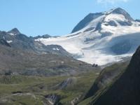 Punta del Sabbione e ghiacciaio