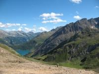 Baettelmatt Alp e Lago di Morasco dal Passo del Gries