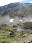Ultimo tratto di sentiero visto dalla Capanna Corno Gries