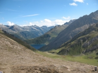 Baettelmatt Alp in primo piano e Lago di Morasco sullo sfondo