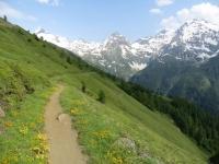 Single-track da Fleschbode in direzione di Stafel