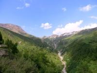 Saflischpass, vista nei pressi di Stafel