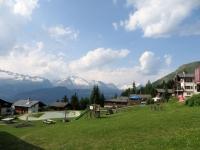 Rosswald, sullo sfondo l'Aletsch-arena
