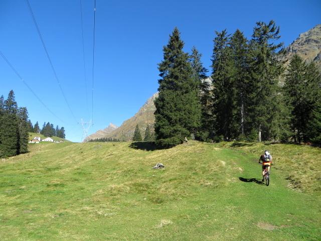 Poco prima dell'Alp de Pian Doss