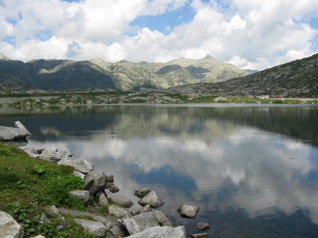 Passo del San Gottardo, Lago della Piazza