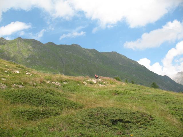 Tra l'Alpe di Pontino e le baite di Orello