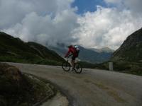 In direzione dell'Alpe di Sorescia