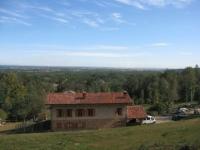 Panorama sulla pianura padana