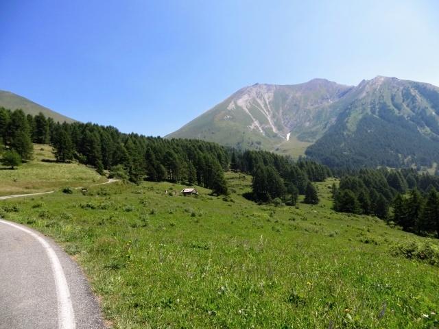 Salita a Pian dell'Alpe